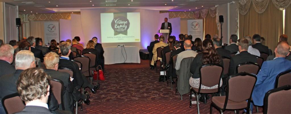 Robin Jones presenting his talk