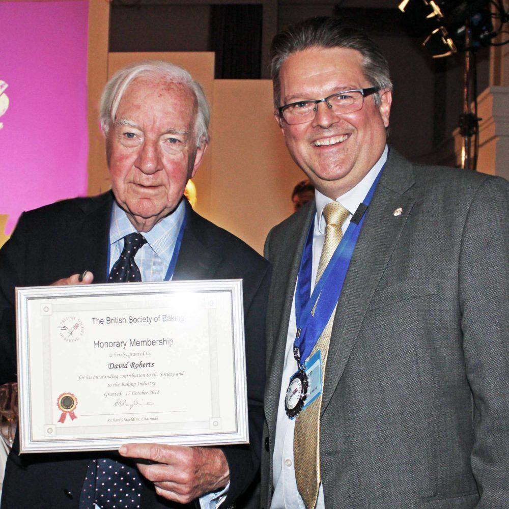 New British Society of Baking Honorary Members